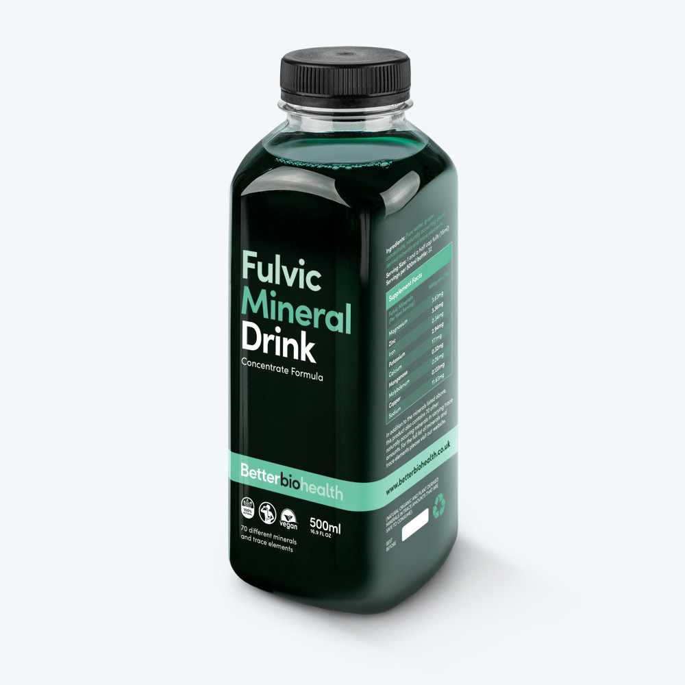 Fulvic Mineral Drink - Daily dose, easily absorbed, essential minerals, trace elements, great health, Fulvic Mineral Drink, colloidal formula, naturally occurring minerals, mineral-rich layers, organic matter, easily absorbed, mineral supplements, ultra-fine particle size, supplement diet, essential nutrition, prevent cravings, good health, strong immune system, aid injury repair, recovery, illness, Pure water, grape concentrate, naturally occurring plant derived minerals, trace minerals, Magnesium, Zinc, Iron, Potassium, Calcium, Manganese, Molybdenum, Copper, Sodium, naturally occurring, essential micro-mineral