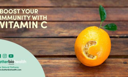 Vitamin C Supplements, boosting immune system, powerful antioxidants, fights inflammation - BetterBio Health