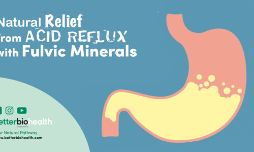 Natural Relief, Acid Reflux, Fulvic Minerals - BetterBio Health